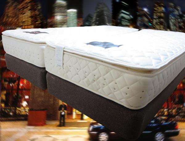 人気のベッド  ポケットハードタイプのベッド_マットレス