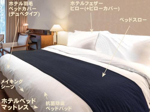 ベッドカバーや布団から枕まで、ホテルのインテリアを自宅に再現します