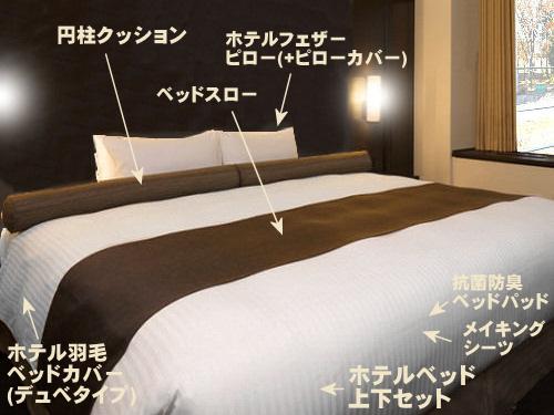 プロ仕様のベッドやマットレス・ベッドカバーでインテリアをリニューアル