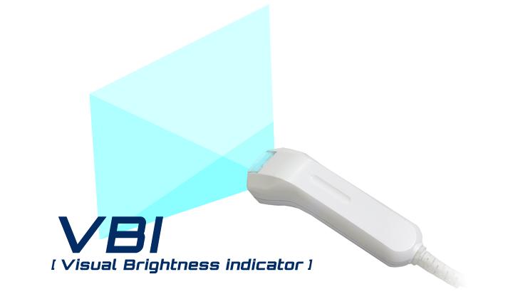広角照射高輝度青色LEDインディケータ VBI(TM)採用 ウェルコムデザイン