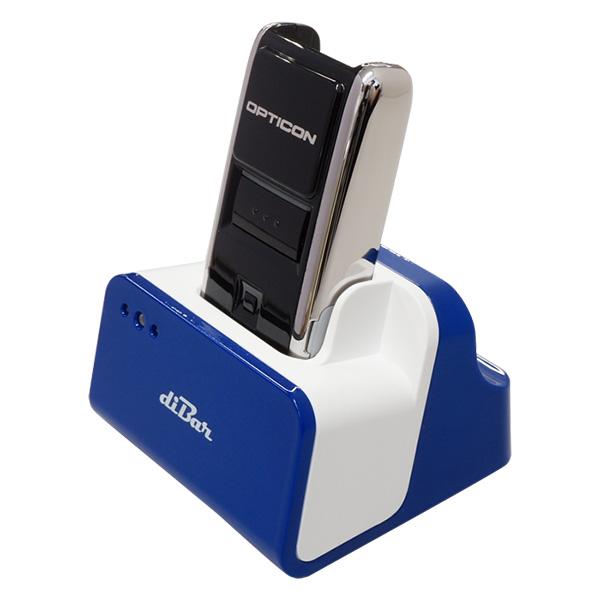 OPN-2002n BLK 充電クレードル(ブルー)セット