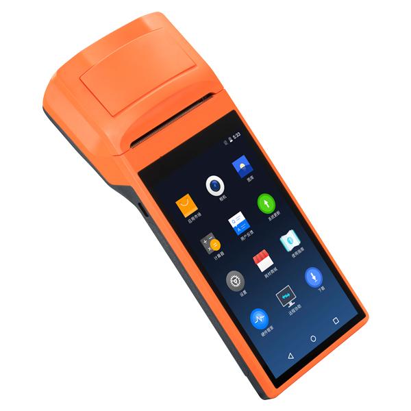 SUNMI V1s プリンター搭載 Androidスマートターミナル 【1年保証】 58mm幅 HDディスプレイ搭載 Bluetooth接続