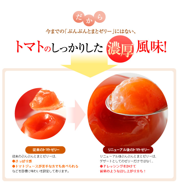トマト&ブルーベリーゼリーの詰め合わせ