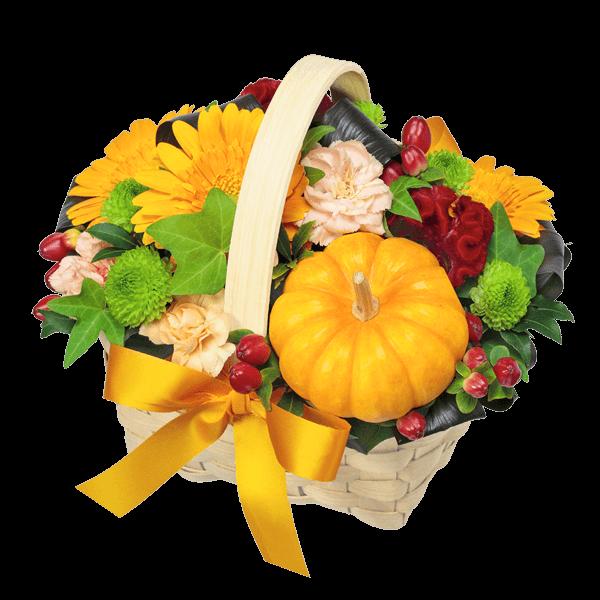 お月見やハロウィンの花 秋のイベント|花キューピットの秋の花贈りギフトおすすめギフト 2019