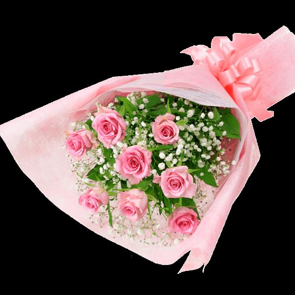 ピンクのバラ ピンクのバラ 優しく可愛らしい|花キューピットのチューリップ特集 2020