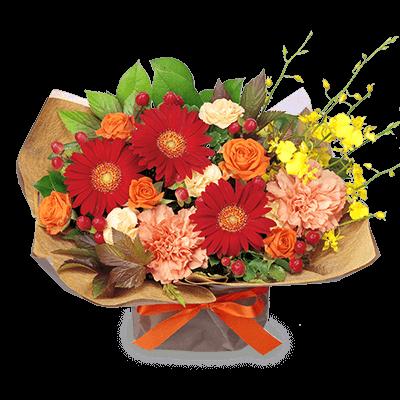 11月の誕生花(赤バラ)