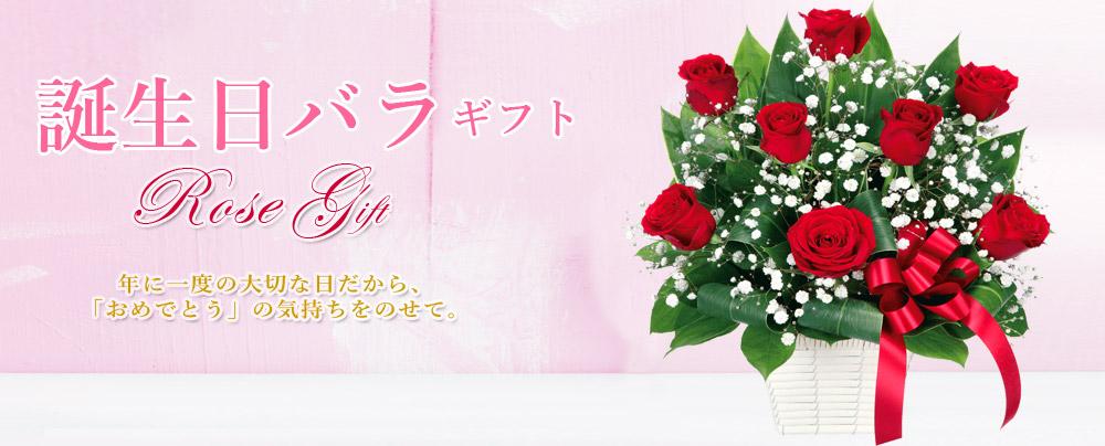 誕生日バラ