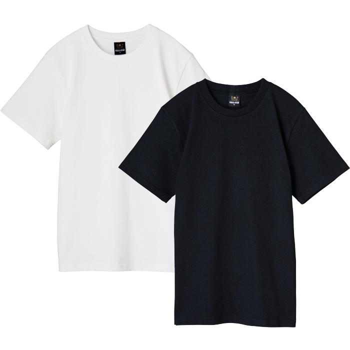 クルーネック Tシャツ 半袖 無地