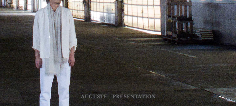 AUGUSTE PRESENTATION(オーギュストプレゼンテーション) ロングスリーブSWETEE