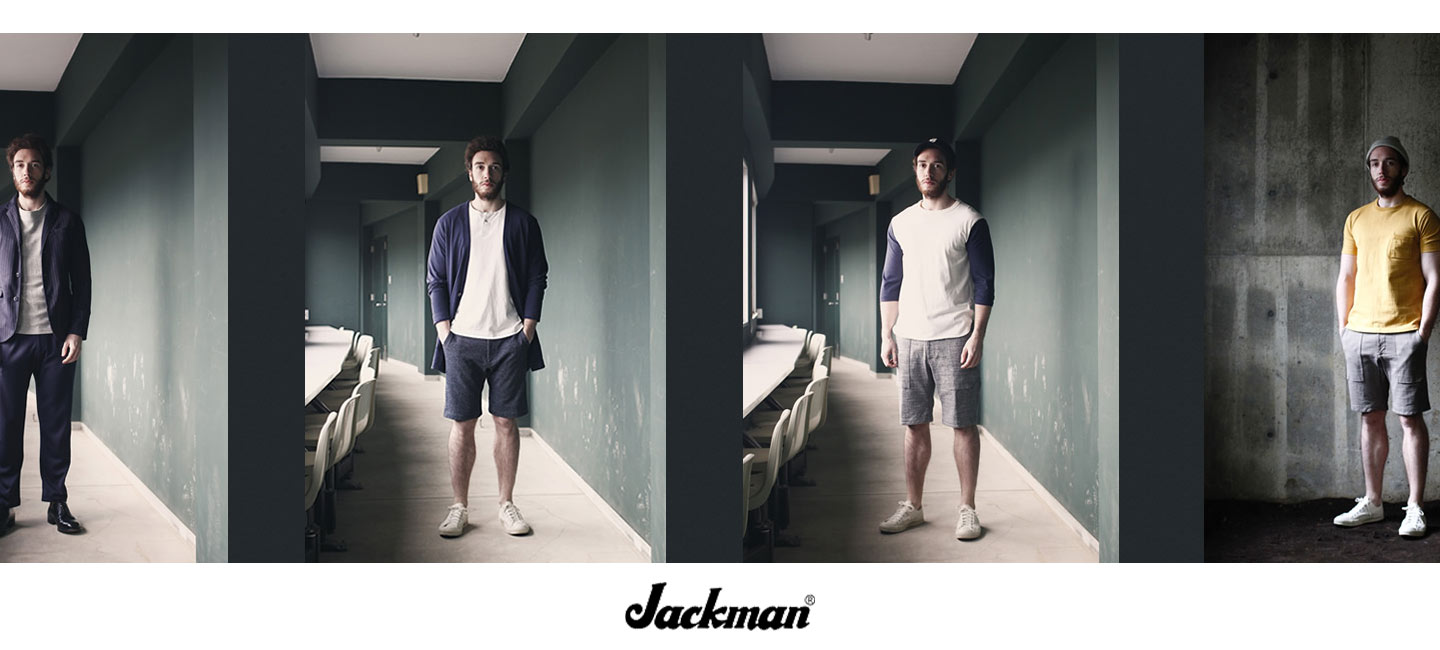 Jackman(ジャックマン) Stretch Ankle Trousers