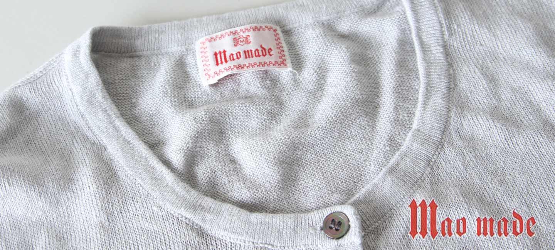 mao made(マオメイド) インドコットンローン刺繍プルオーバー