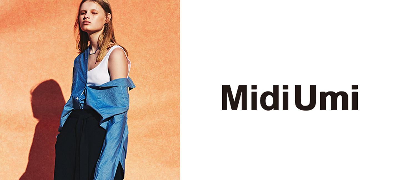 MidiUmi(ミディウミ) フロントタックスカート