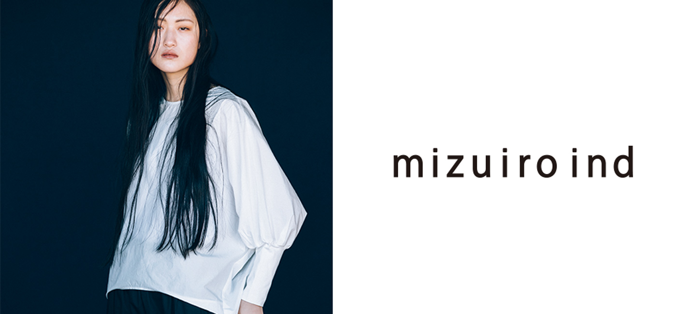 mizuiro ind(ミズイロインド) Vネックプルオーバーニット