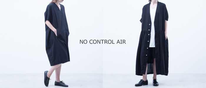 NO CONTROL AIR(ノーコントロールエアー) ポリエステル リンクルタフタ ショップコート