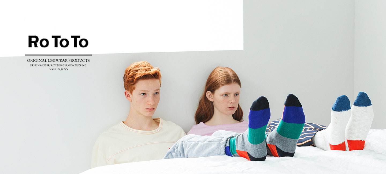 RoToTo(ロトト) Lowgauge Slub Socks Short