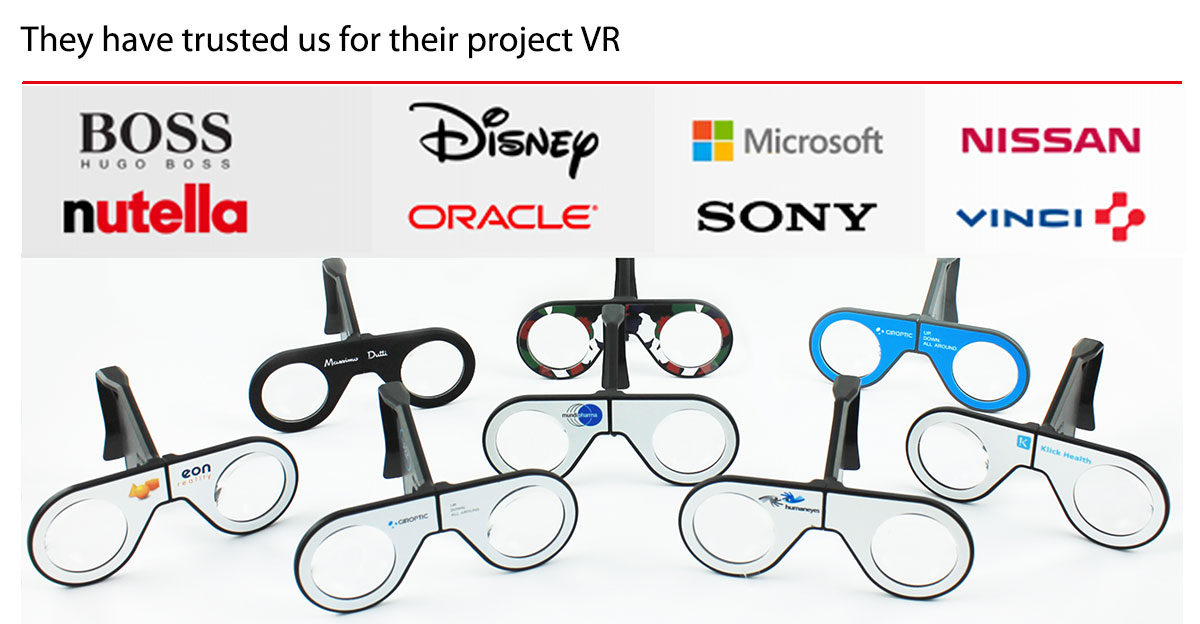 They have trusted us for their project VR