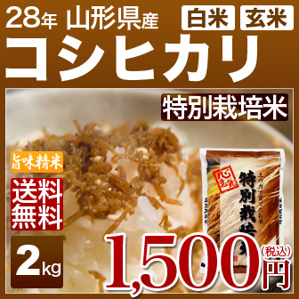 山形県 コシヒカリ(特別栽培米)