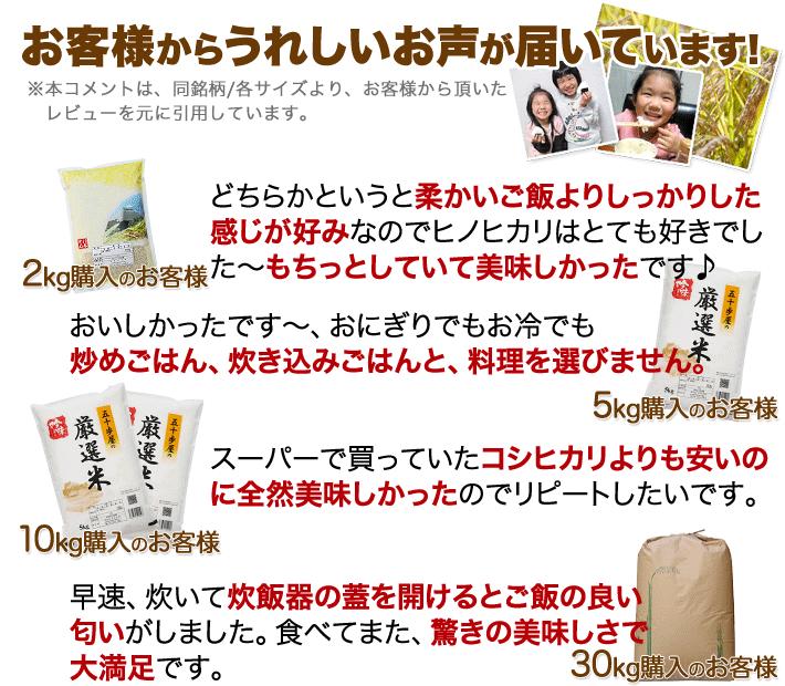 香川県 ヒノヒカリのレビュー