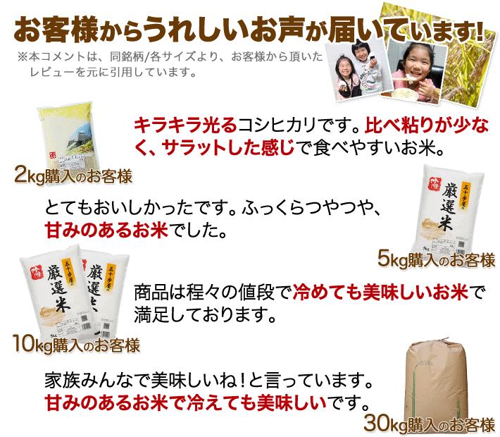 香川県 コシヒカリのレビュー