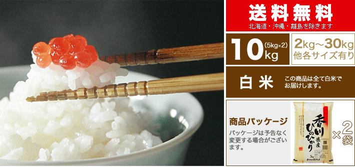 新米 30年 香川県 ヒノヒカリ 10kg(5kg×2袋)