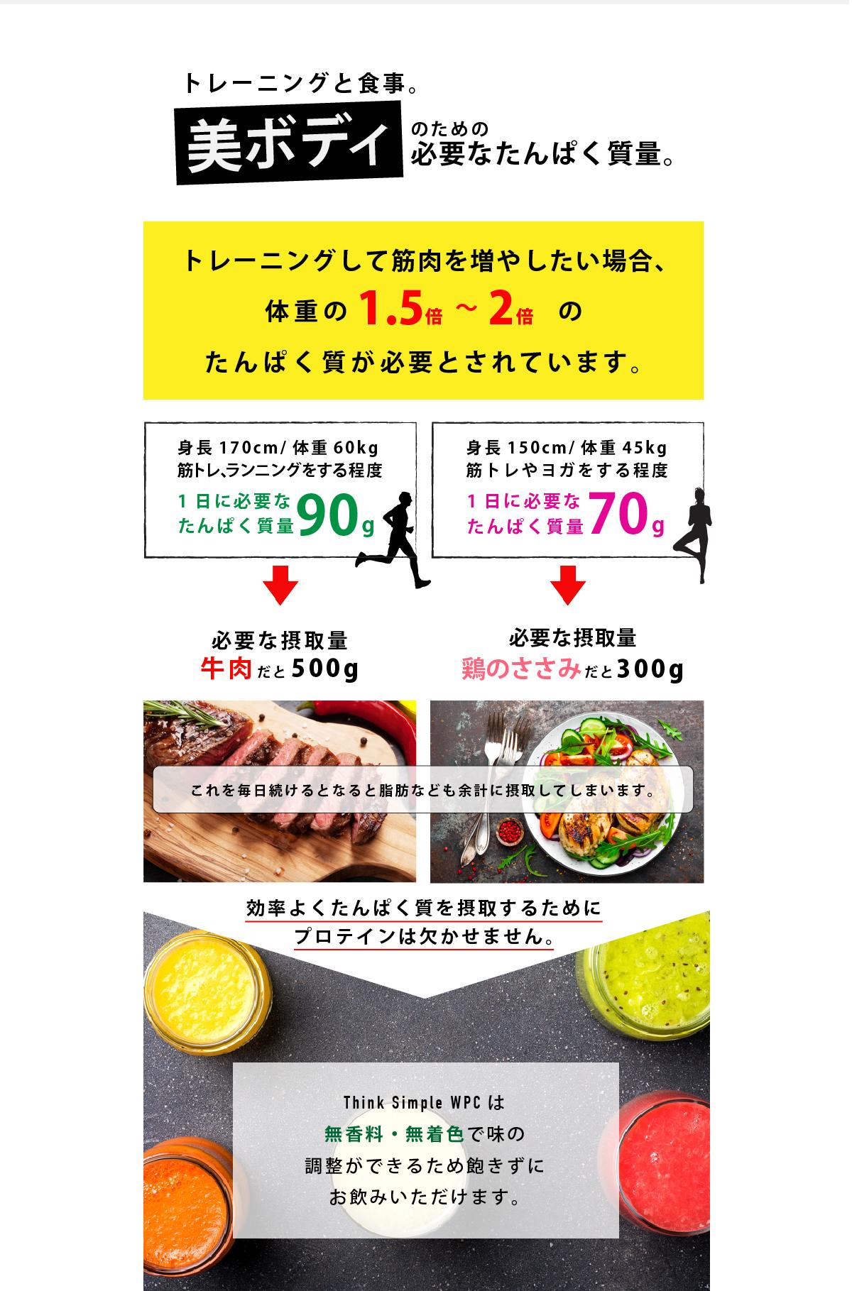 適度な運動と栄養