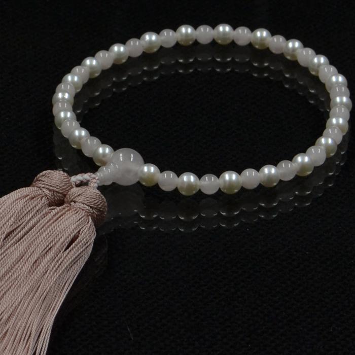 オリジナル 本真珠 数珠