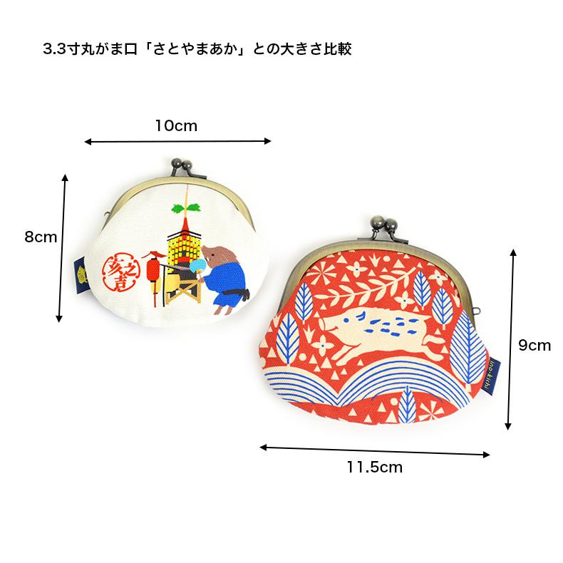 亥之吉2.6寸丸がま口祇園祭