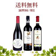 酸化防止剤無添加ワイン 3本セット