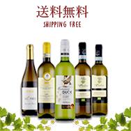 酸化防止剤無添加オーガニック白ワイン5本セット