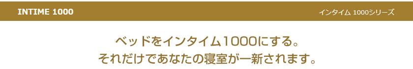 インタイム1000シリーズ