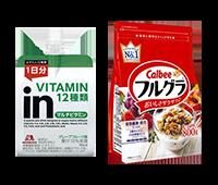 シリアル栄養補助食品