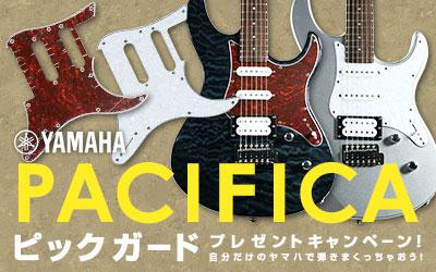 Yamaha ピックガード2枚プレゼント!