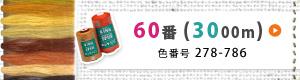 キング スパン(ポリエステル)ミシン糸60番/3000m-2