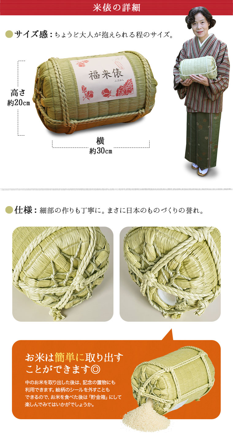 米俵の詳細