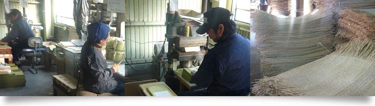 米俵は、すべて職人の手作り。