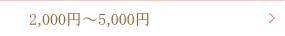 2000円〜5000円