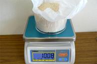 重量の計測