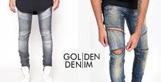 【Golden Denim】ゴールデンデニム 高感度なTRENDを取り込んだスタイルが多くの支持を得て、 アーティストにも愛用されSTREET BRANDの地位を確立しています。