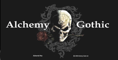 UK発、ロック、パンク、ゴシック テイスト全開アクセサリー! Alchemy Gothic