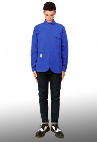 coat:ロング パーカー  pants:サルエル ボンテージパンツ