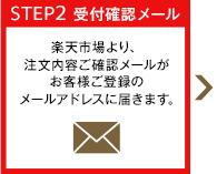STEP2 受付確認メール