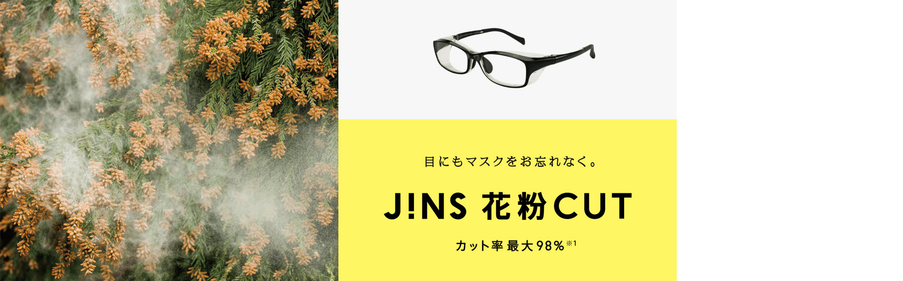 JINS 花粉カット Photo