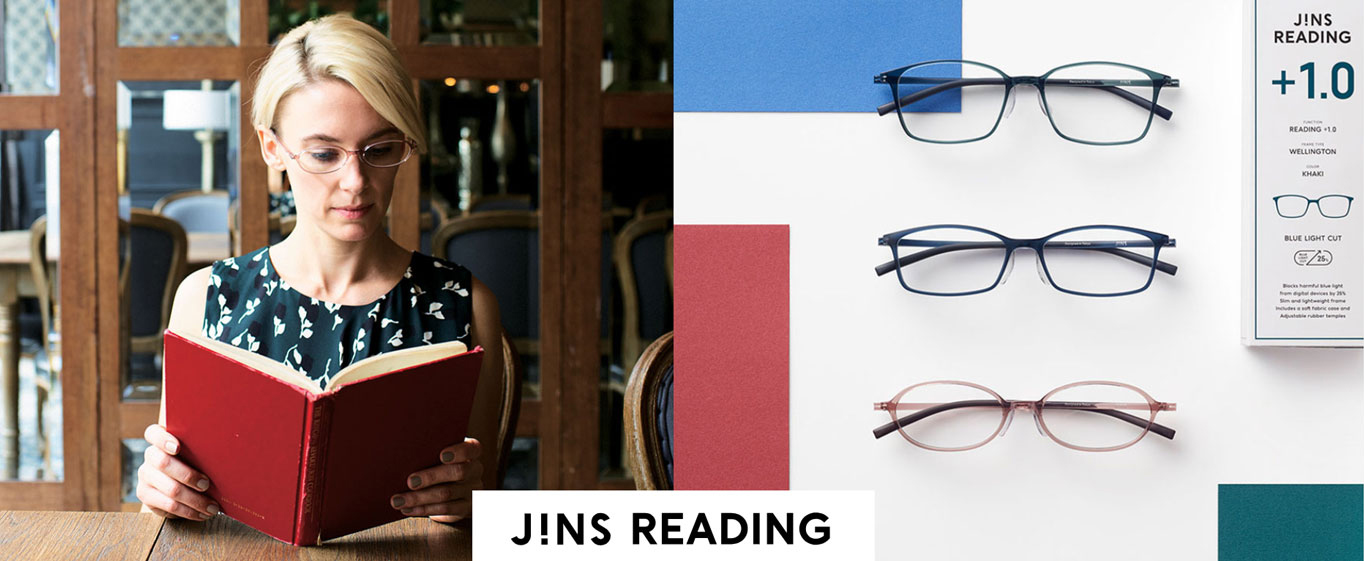 JINS READING GLASSES Photo
