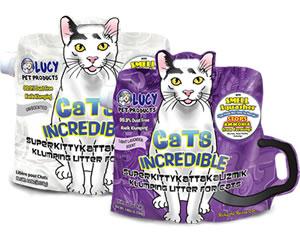 [ルーシーペットプロダクツ/LUCY PET PRODUCTS]キャットインクレディブル<猫砂・トイレ用品>