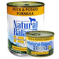 [ナチュラルバランス]ダック&ポテト ドッグ缶フード