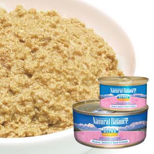 [ナチュラルバランス/Natural Balance]ホールボディヘルス リデュースカロリー チキン、サーモン&ダック フォーミュラ キャット缶フード