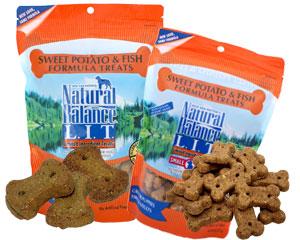 [ナチュラルバランス/Natural Balance]スウィートポテト&フィッシュ トリーツ(アレルギー対応クッキー)