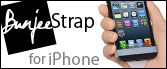 Bunjee Strap for iPhone