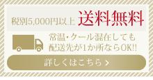 税別5,000円以上 送料無料