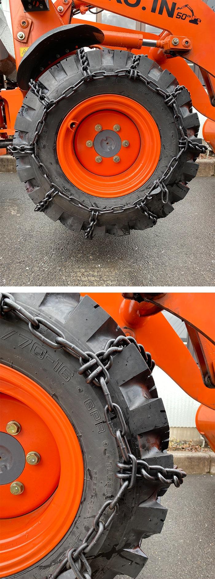 ベストロング建設機械用タイヤチェーンスタンダード